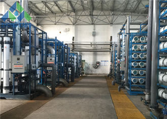 large scale water purification