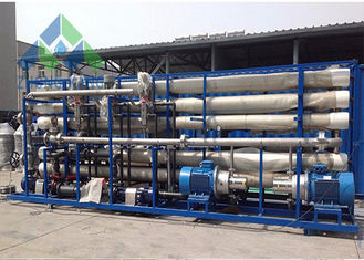 Industrial Ro Seawater Desalination Plant With UV Light Sterilizer Heavy Weight