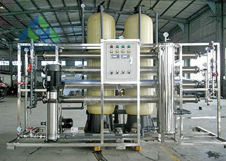 RO System Automatic Control Salt Water Treatment Plant For Plastic Recycling