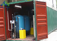 Containerized Brackish Water Filtration System , Well Water Treatment Plant Irrigation Use