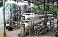 China High Efficiency Salt Water Treatment Systems Small Scale Desalination Plant factory