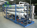UV / Ozone Sterilization RO Water Treatment Plant For Tap Water Leakage Proof