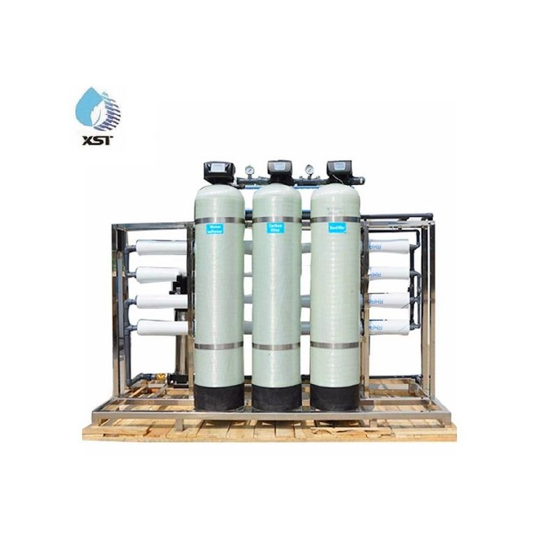 2000LPH Reverse Osmosis system Automatic RO Water Treatment plant