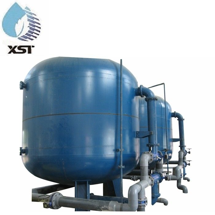 FRP Tank MultiMedia Activated Carbon Filter For Water Treatment