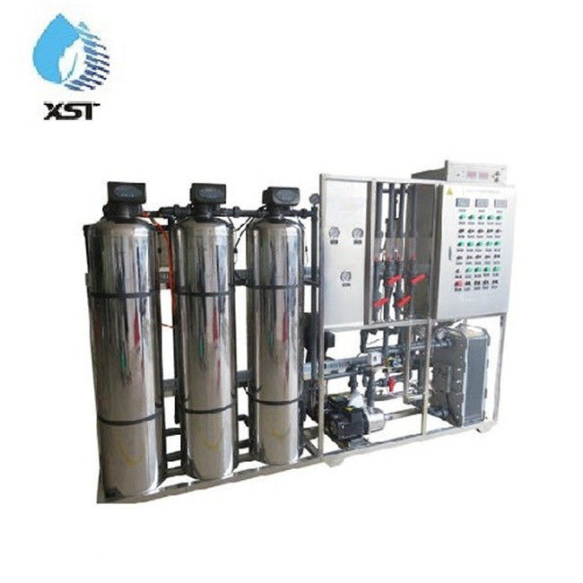 5000LPH EDI Ultra Pure RO Water Treatment Plant For Electric Industry