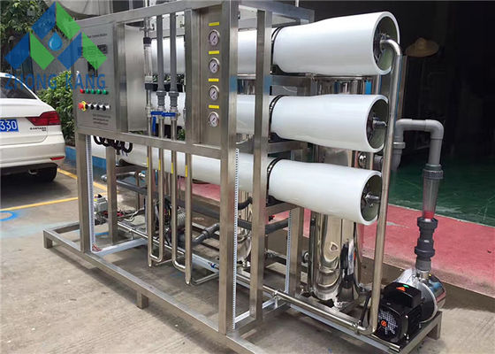 China Smart Control Brackish Water Treatment Systems Small Scale Customized Outlet TDS distributor