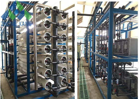 China Island Use Middle / Large Scale Marine Reverse Osmosis Water Maker For Fresh Water distributor