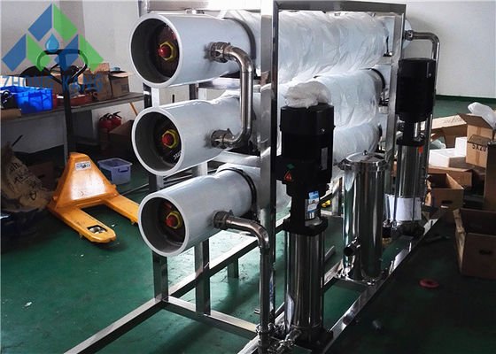 China Salty Borehole Water Treatment Plant , Brackish Water Ro Plant Eco Friendly distributor