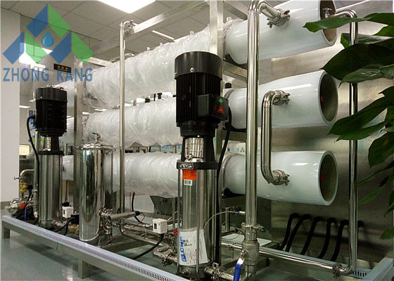 China SS316 Steel Frame Commercial Reverse Osmosis Water System For Mineral Water Plant factory