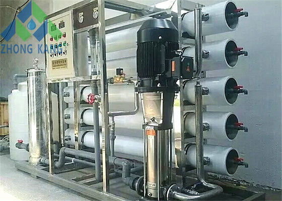 China Eco Friendly Commercial Reverse Osmosis Machine For Food Processing Factory distributor