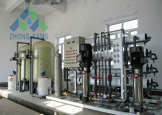 China 10t/H Saltwater To Drinking Water Machine , Salt Water Ro System With Ro Membrane distributor