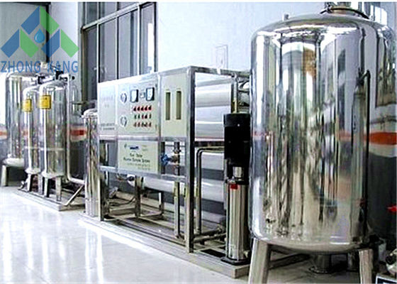 China RO Brackish Water Desalination Plant , Domestic / Industrial Water Treatment Systems distributor