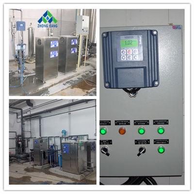 China Corona Commercial Ozone Generator Bottled Water Treatment 24 Hours Continuously Working factory