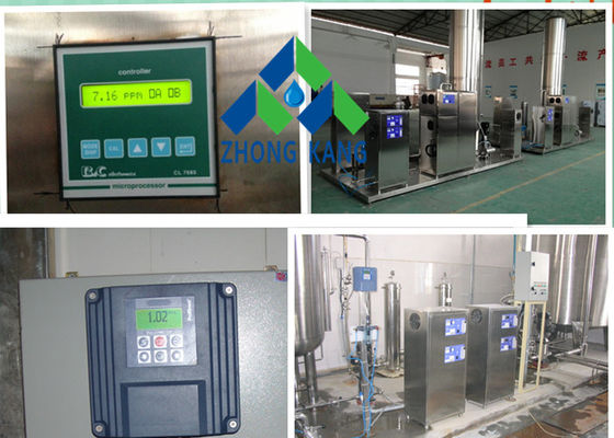 China SS304 Material Corona Ozone Ozone system For Ozonated Water distributor